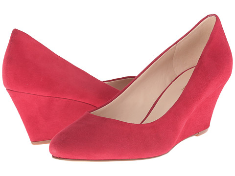 Nine West - Mela (Red Suede) Women's Wedge Shoes