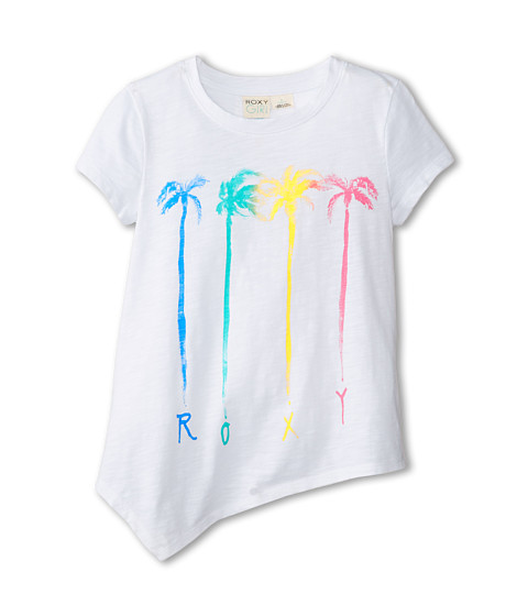 Roxy Kids - Short Sleeve Basic Crew Tee (Big Kids) (Sea Salt) Girl