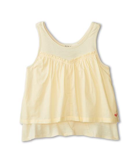 Roxy Kids - Angelfish Crop (Big Kids) (Seed Pearl) Girl's Sleeveless
