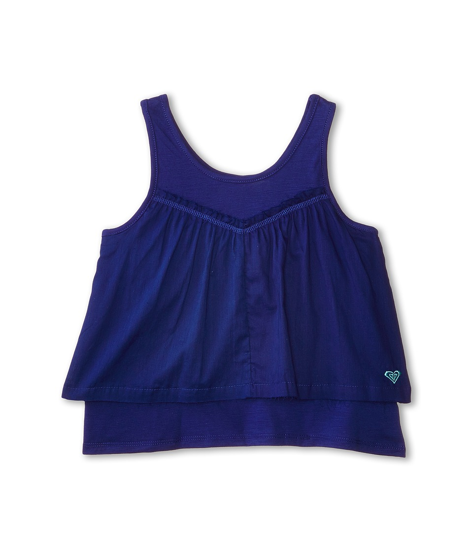 Roxy Kids - Angelfish Crop (Big Kids) (Mzarine Blue) Girl's Sleeveless