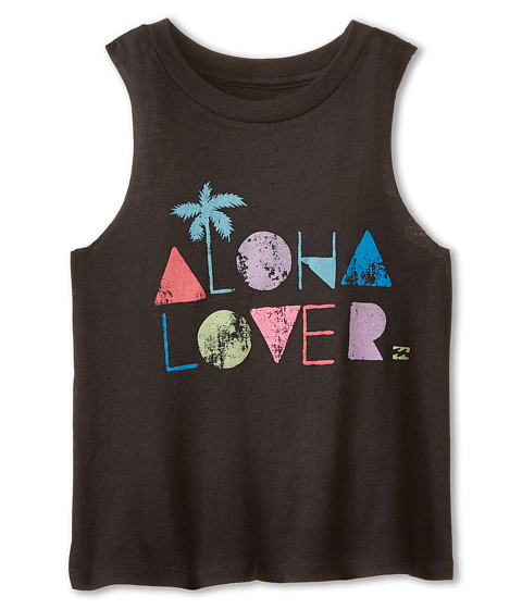 Billabong Kids - Aloha Lover Tee (Little Kids/Big Kids) (Off Black) Girl