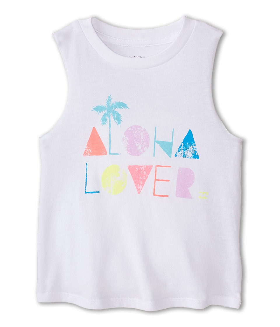 Billabong Kids - Aloha Lover Tee (Little Kids/Big Kids) (White) Girl