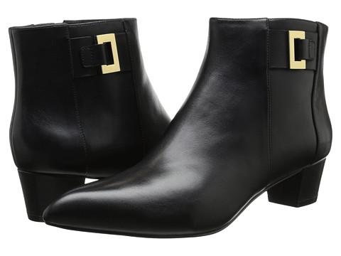 Nine West - Twasthe (Black Leather) Women