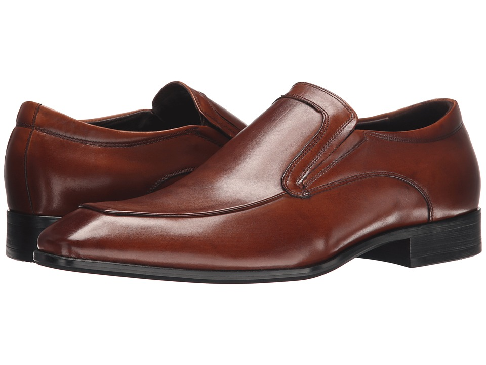 Kenneth Cole New York - Bet On It (Cognac) Men's Slip on Shoes