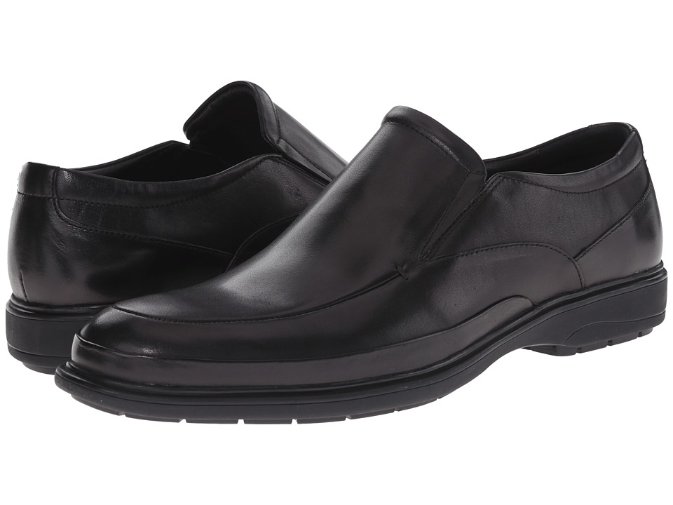 Kenneth Cole New York - Mid-Night Run (Black) Men's Slip on Shoes