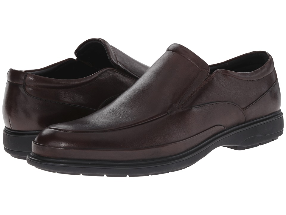 Kenneth Cole New York - Mid-Night Run (Brown) Men's Slip on Shoes