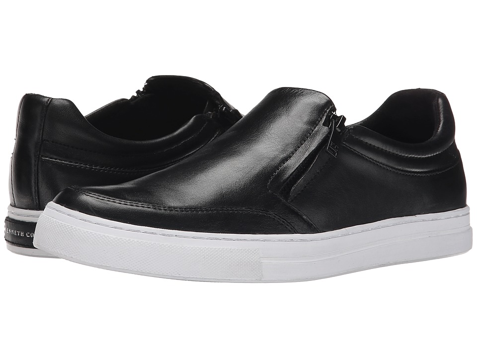 Kenneth Cole New York - Double Digit (Black) Men's Slip on Shoes