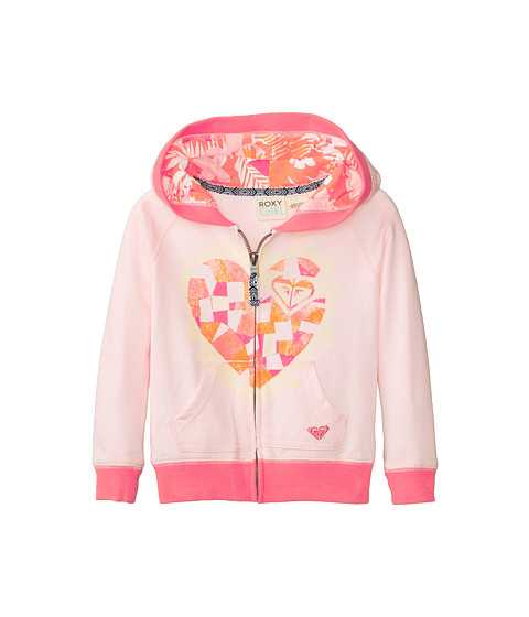 Roxy Kids - Coral Bay Hoodie (Toddler/Little Kids/Big Kids) (Sunrise Pink) Girl's Sweatshirt