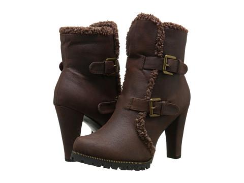 C Label - Binky-4 (Brown) Women's Boots