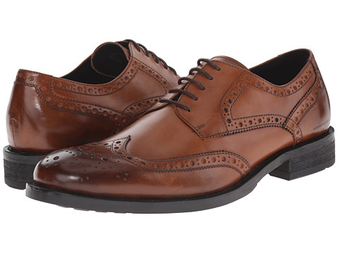 Kenneth Cole New York - Gold Mind (Cognac) Men's Lace up casual Shoes