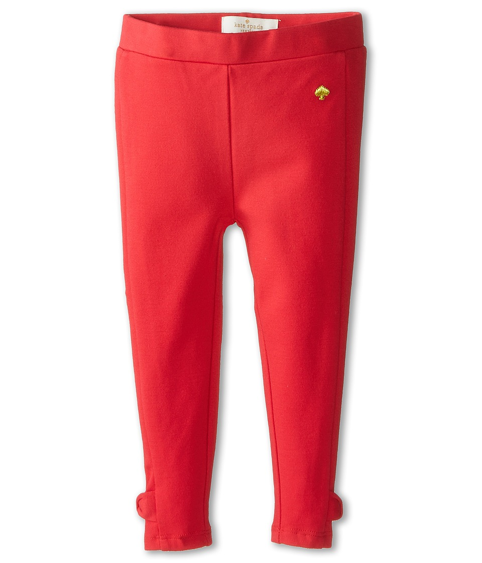 Kate Spade New York Kids - Jamie Leggings (Toddler/Little Kids) (Red) Girl's Casual Pants