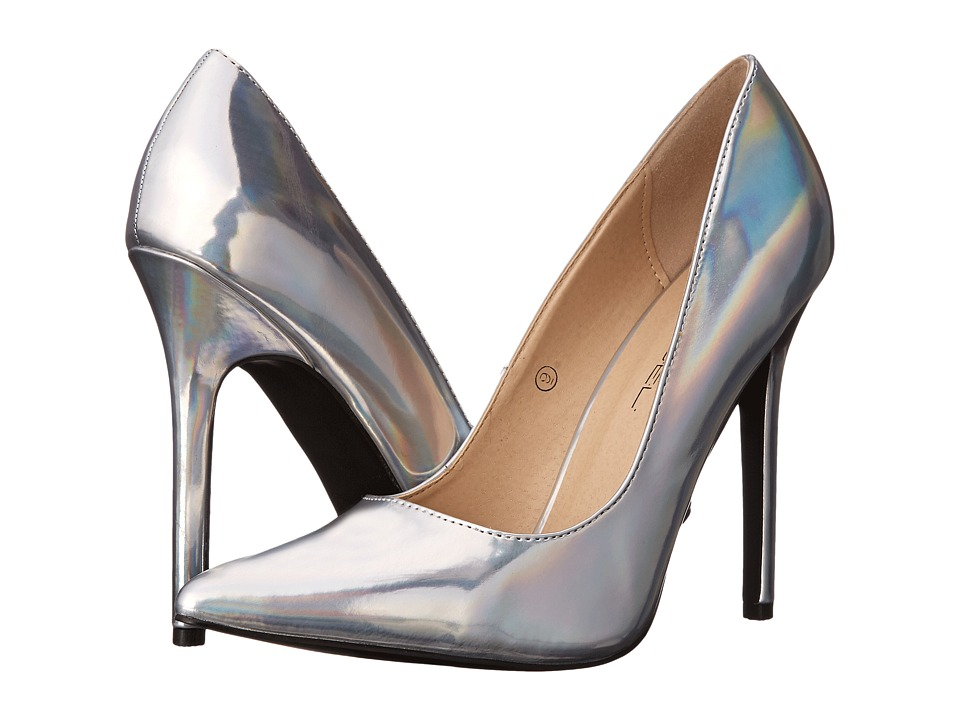 C Label - Dayna-7 (Silver) High Heels