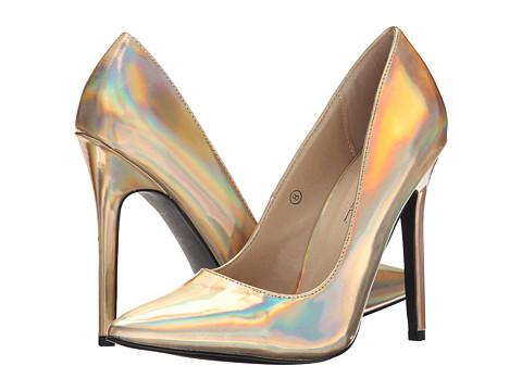 C Label - Dayna-7 (Gold) High Heels