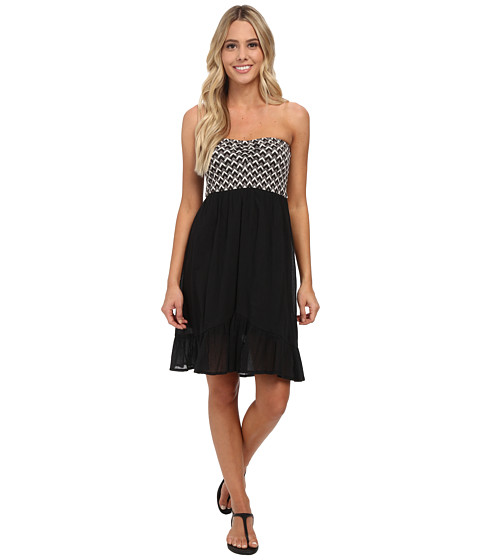Volcom - Up Next Mini Dress (Black Combo) Women
