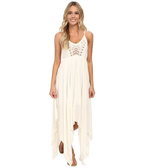 Volcom - Best Fest Dress (Cream) Women's Dress