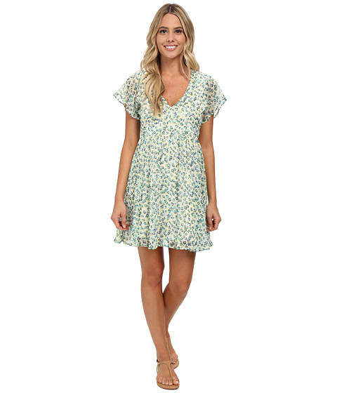 Volcom - So Serious Dress (Cream) Women's Dress