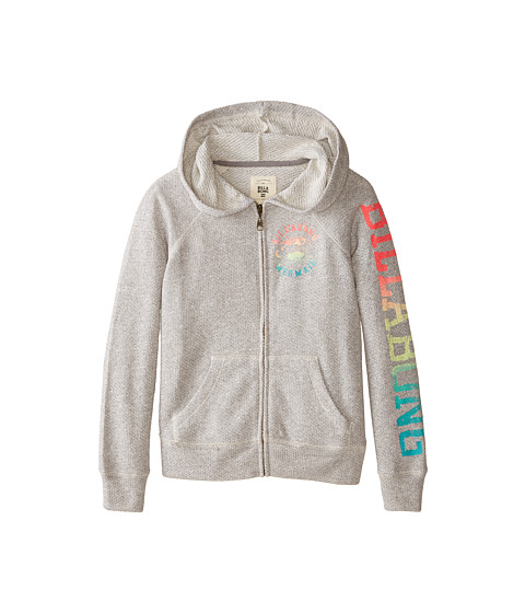 Billabong Kids - Skip To The Beat Sweatshirt (Little Kids/Big Kids) (Dark Athletic Grey) Girl