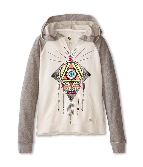 Billabong Kids - Stolen Paradise Sweatshirt (Little Kids/Big Kids) (Dark Athletic Grey) Girl's Sweatshirt
