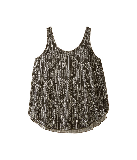 Billabong Kids - Sweet Luck Knit Tank Top (Little Kids/Big Kids) (Off Black) Girl's Sleeveless