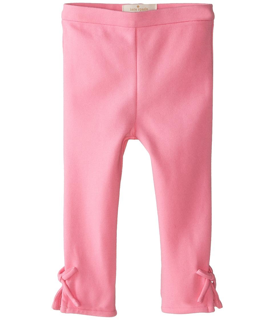 Kate Spade New York Kids - Bow Leggings (Infant) (Cotton Candy) Girl