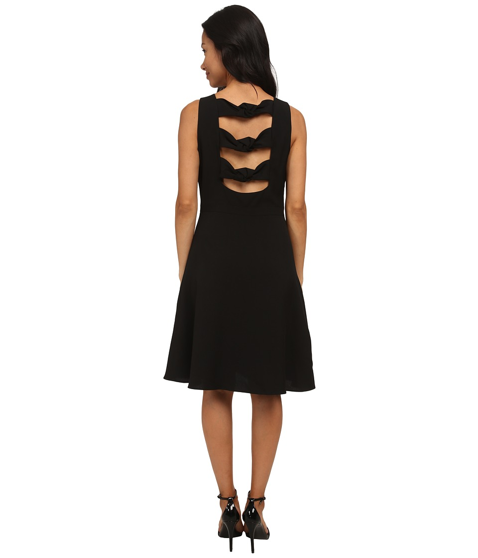 rsvp - Rocio Knotted Dress (Black) Women's Dress