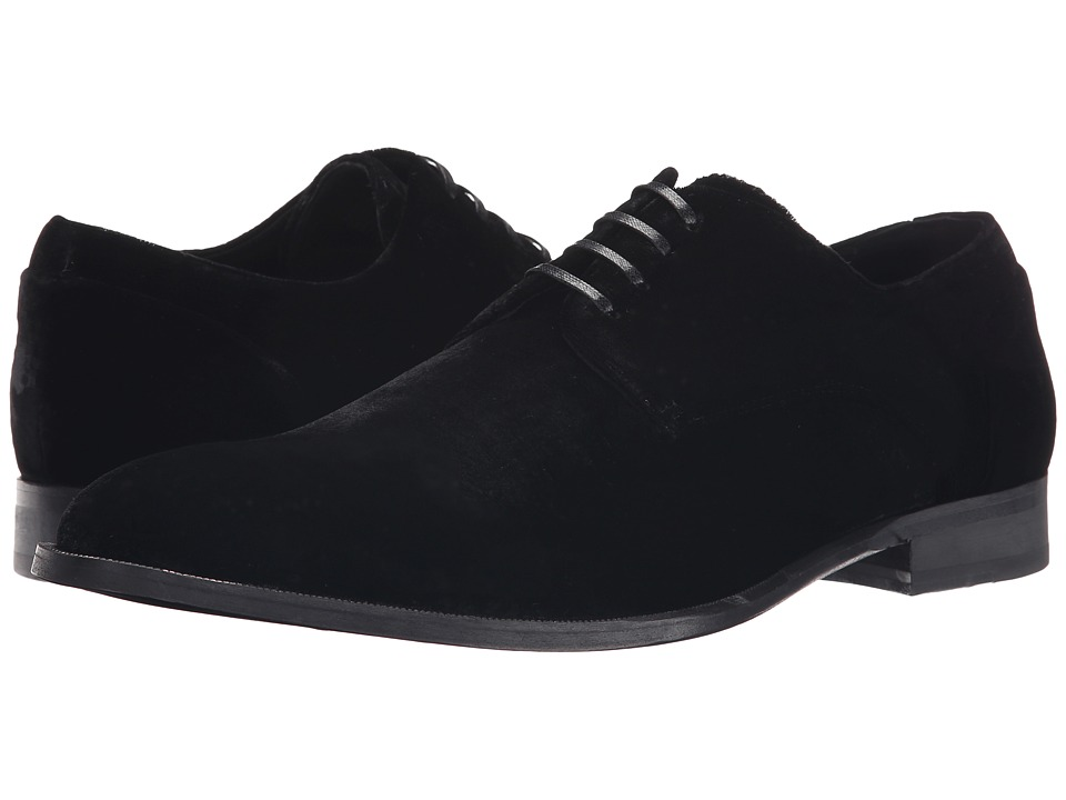 Kenneth Cole New York - Keep T-Rack (Black/Black) Men's Lace up casual Shoes