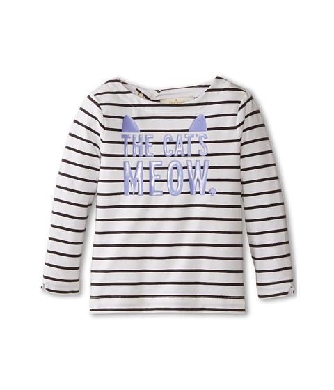 Kate Spade New York Kids - Roanne Yarn Dyed Top (Infant) (Black/Cream) Girl's Clothing