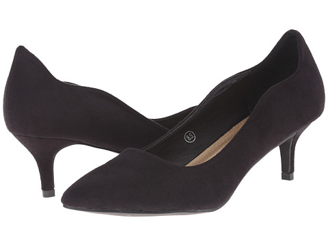 C Label - Felitsa-1 (Black) Women's 1-2 inch heel Shoes
