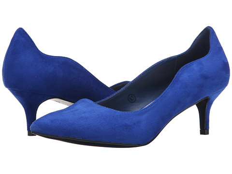 C Label - Felitsa-1 (Royal Blue) Women's 1-2 inch heel Shoes