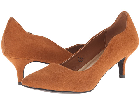 C Label - Felitsa-1 (Camel) Women's 1-2 inch heel Shoes
