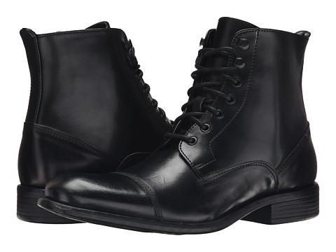 Kenneth Cole New York - Smash Bash (Black) Men's Lace-up Boots