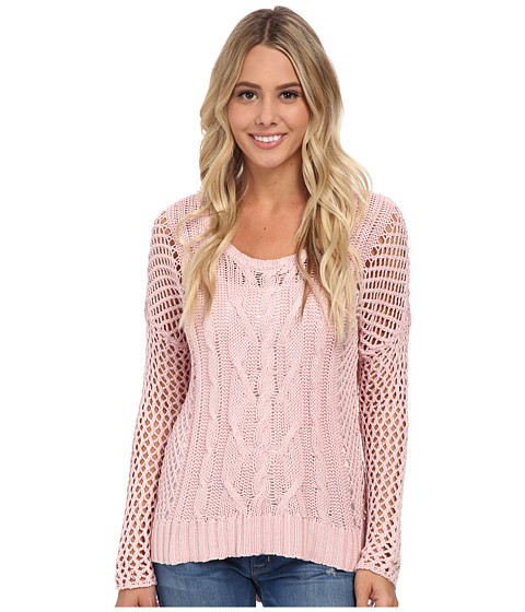 Volcom - Fishin Sweater (Powder Pink) Women's Sweater