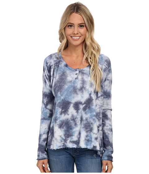 Volcom - Sunday Morning Pullover Top (Sandy Indigo) Women's Long Sleeve Pullover