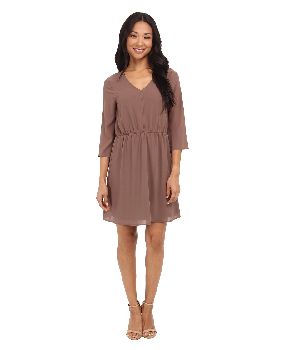 Brigitte Bailey Monica Dress (Dark Mocha) Women's Dress