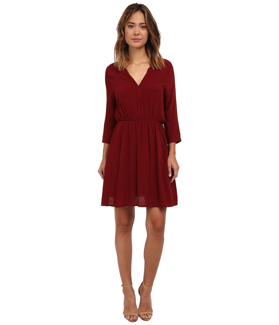 Brigitte Bailey - Katie Dress (Wine) Women's Dress