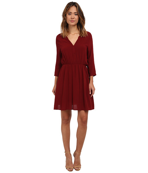 Brigitte Bailey - Katie Dress (Wine) Women's Dress