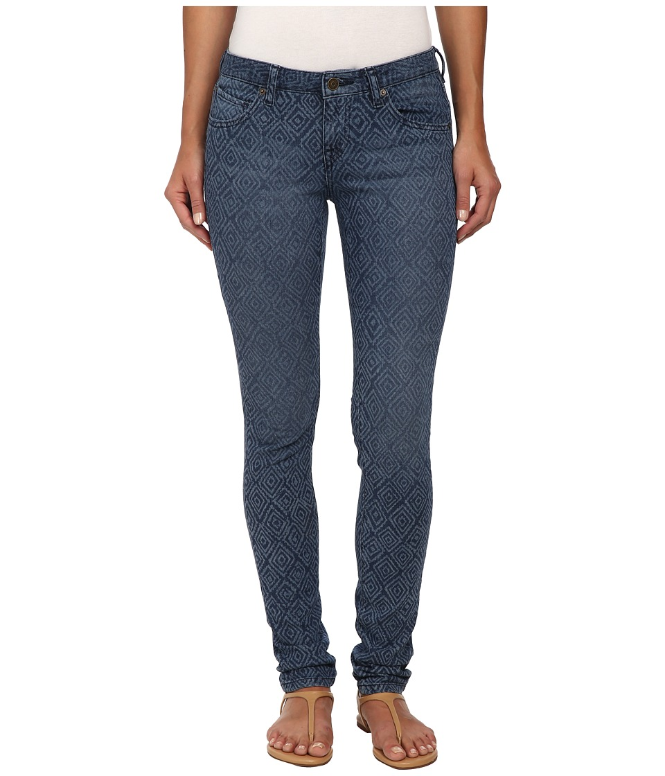 Volcom - Super Stoned Skinny Jean (Washed Blue) Women's Jeans