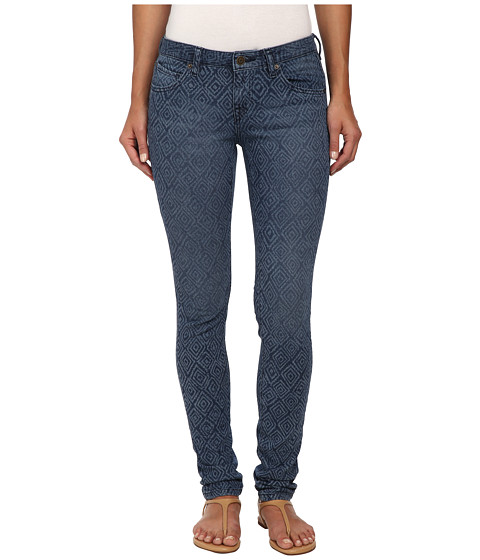 Volcom - Super Stoned Skinny Jean (Washed Blue) Women