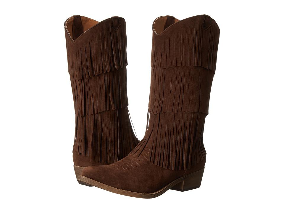 C Label - Topaz-3 (Brown) Women's Boots