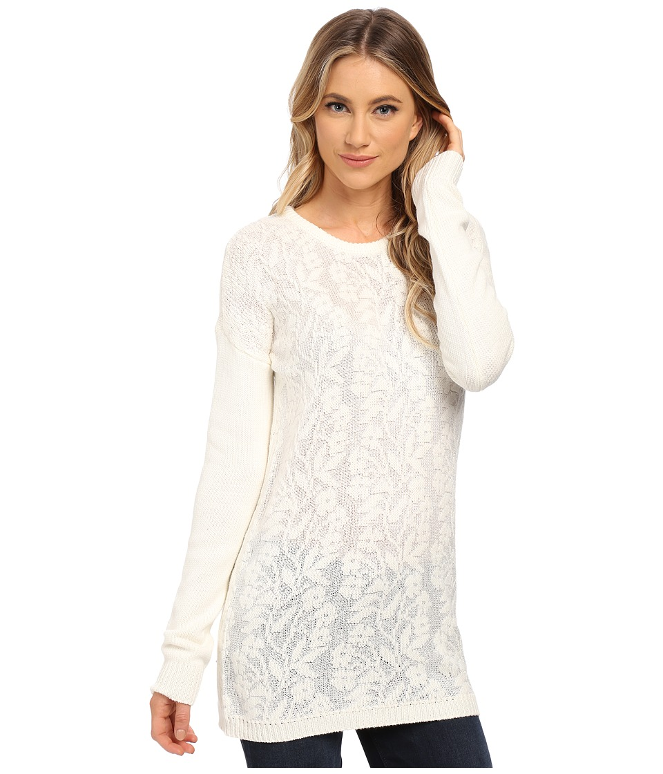 RVCA - Krystalized Sweater (Vintage White) Women