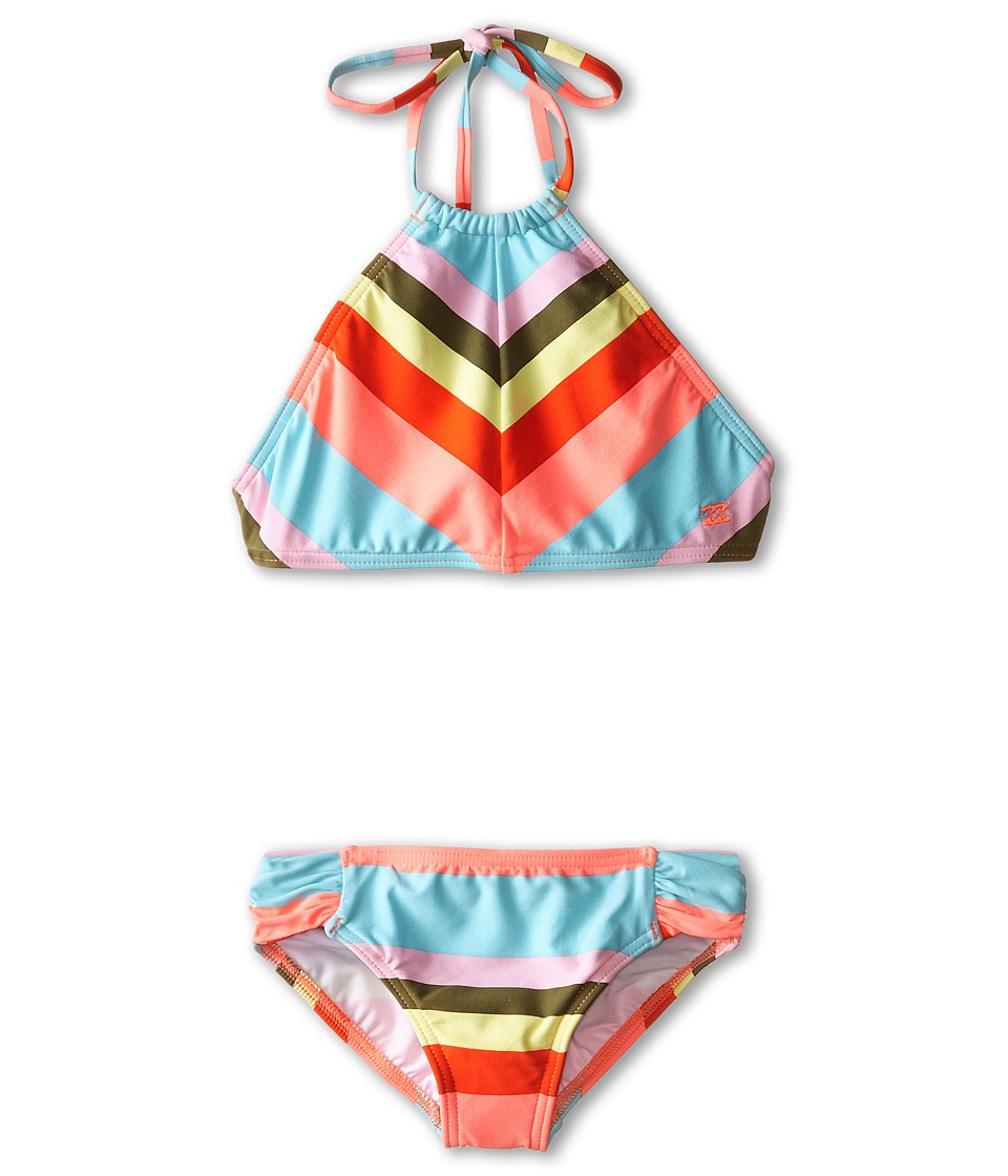 Billabong Kids - Aloha Love Crop Swimsuit (Little Kids/Big Kids) (Multi) Girl's Swimsuits One Piece