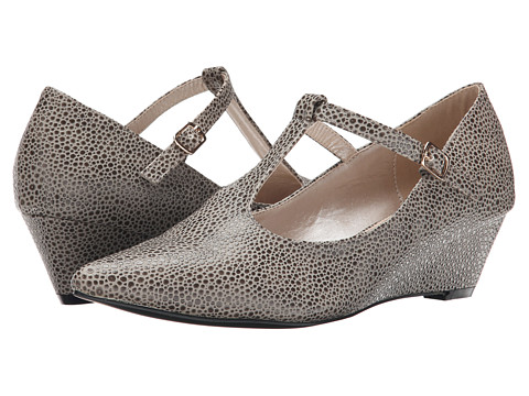 C Label - Alita-3 (Grey) Women's Wedge Shoes
