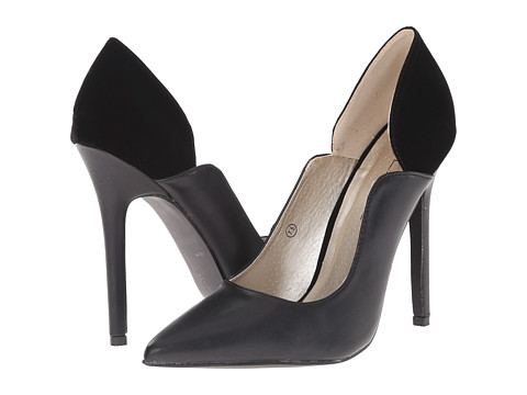 C Label - Dayna-1 (Black) High Heels