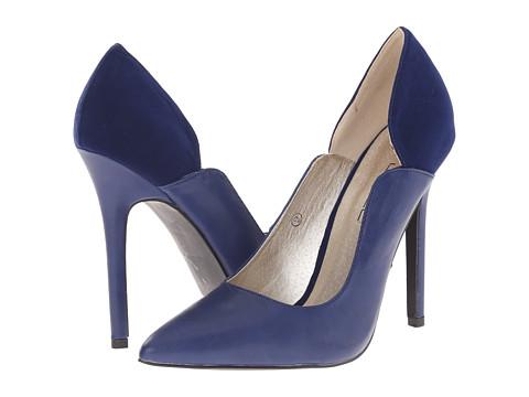 C Label - Dayna-1 (Navy) High Heels