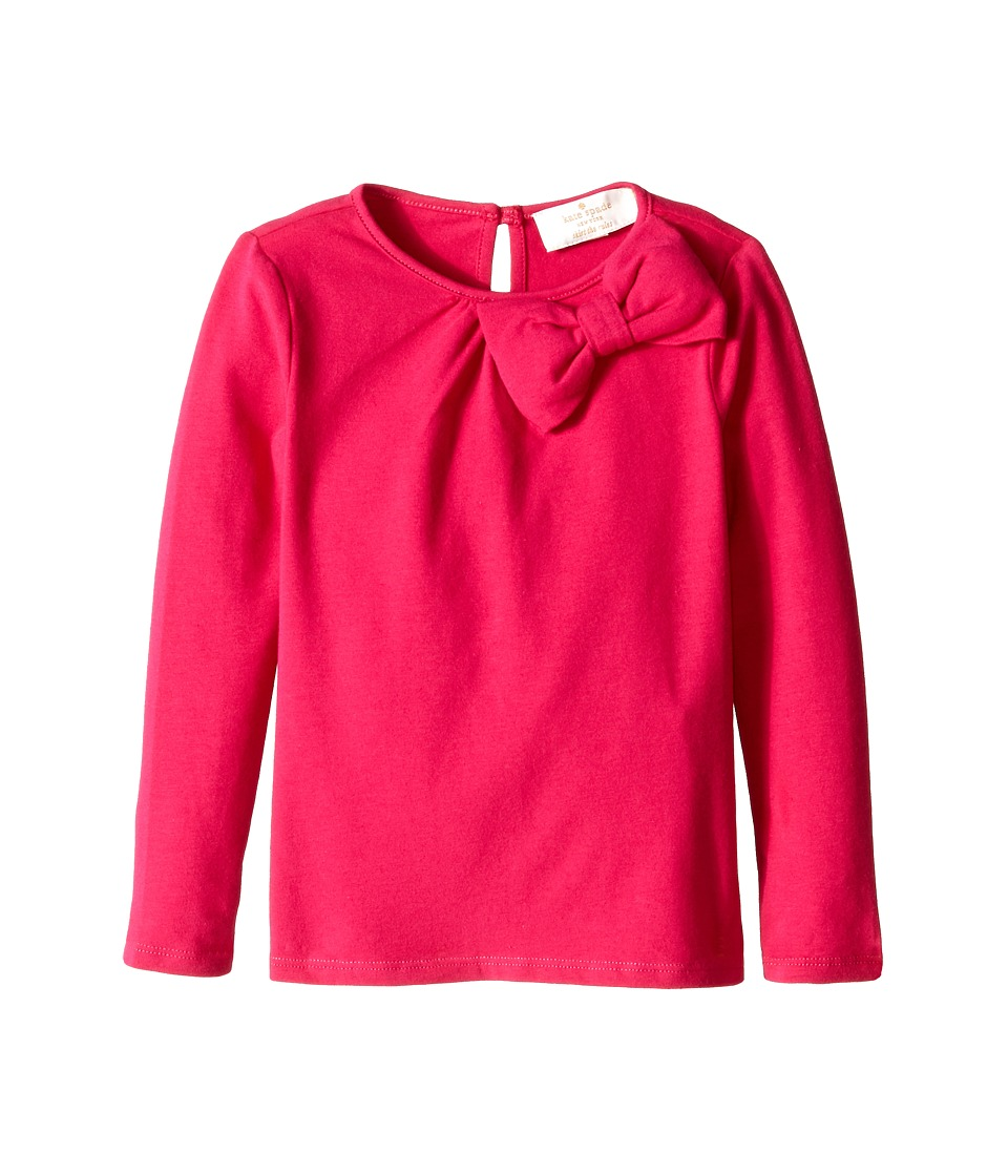 Kate Spade New York Kids - Bow Top (Toddler/Little Kids) (Sweetheart Pink) Girl's Long Sleeve Pullover