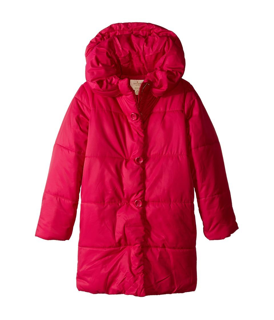 Kate Spade New York Kids - Puffer Coat (Big Kids) (Sweetheart Pink) Girl's Coat