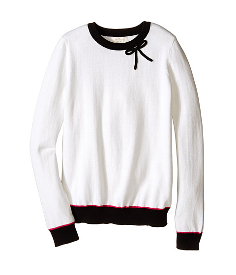 Kate Spade New York Kids - Color Blocked Bow Sweater (Big Kids) (Multi) Girl's Sweater
