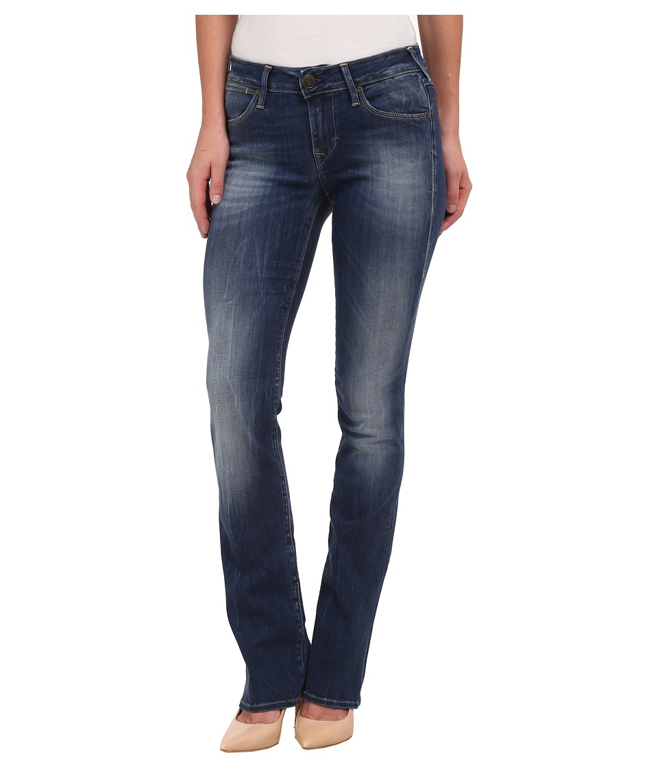 True Religion - Gina Mini Bootcut Jeans in Medium Blue (Medium Blue) Women