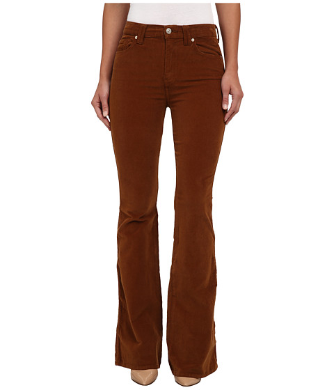 7 For All Mankind - Fashion Flare in Cognac (Cognac) Women