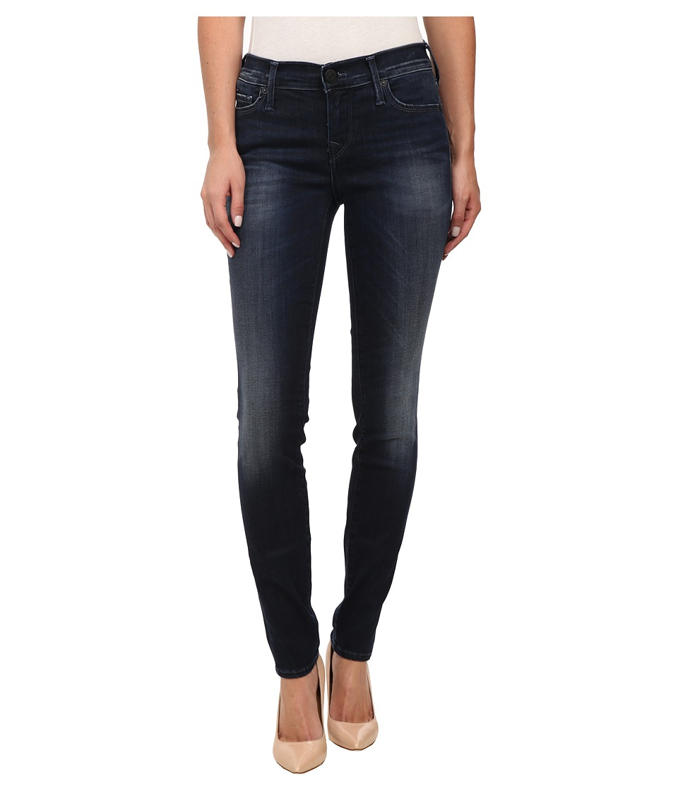 True Religion - Abbey High Rise Super Skinny Jeans in Basic Dark (Basic Dark) Women's Jeans
